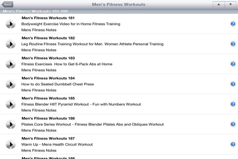App Shopper Mens Fitness Workouts Healthcare